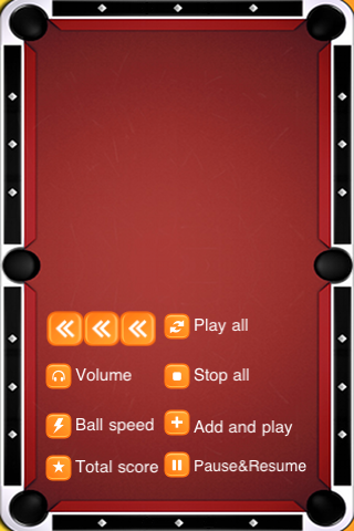 Screenshot Automatic Billiards