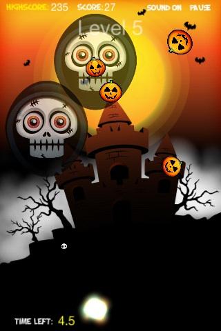 Screenshot Flying Pumpkins