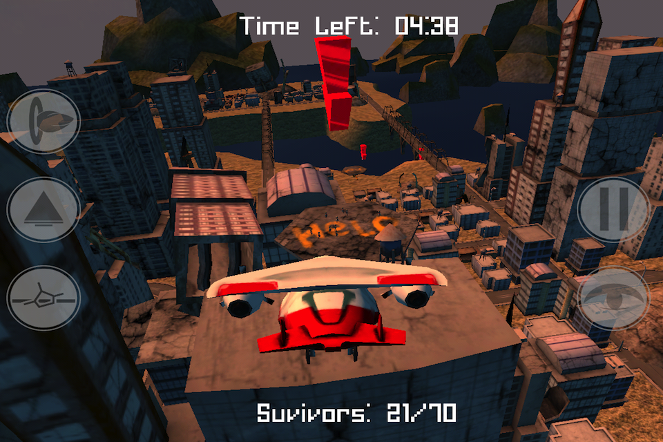 Screenshot Air Rescue – Armageddon